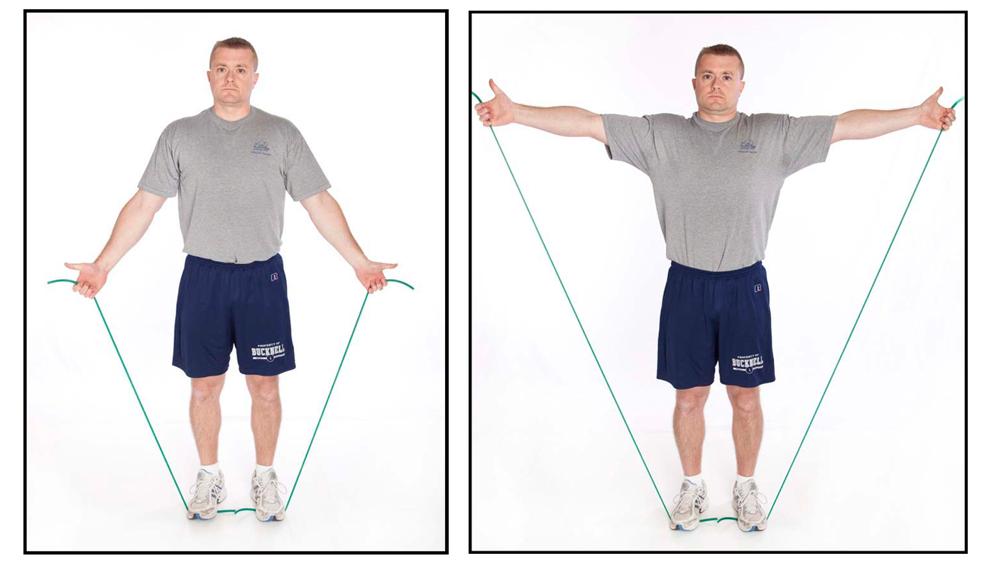 Shoulder complex exercises to prevent injuries for Floor y raise