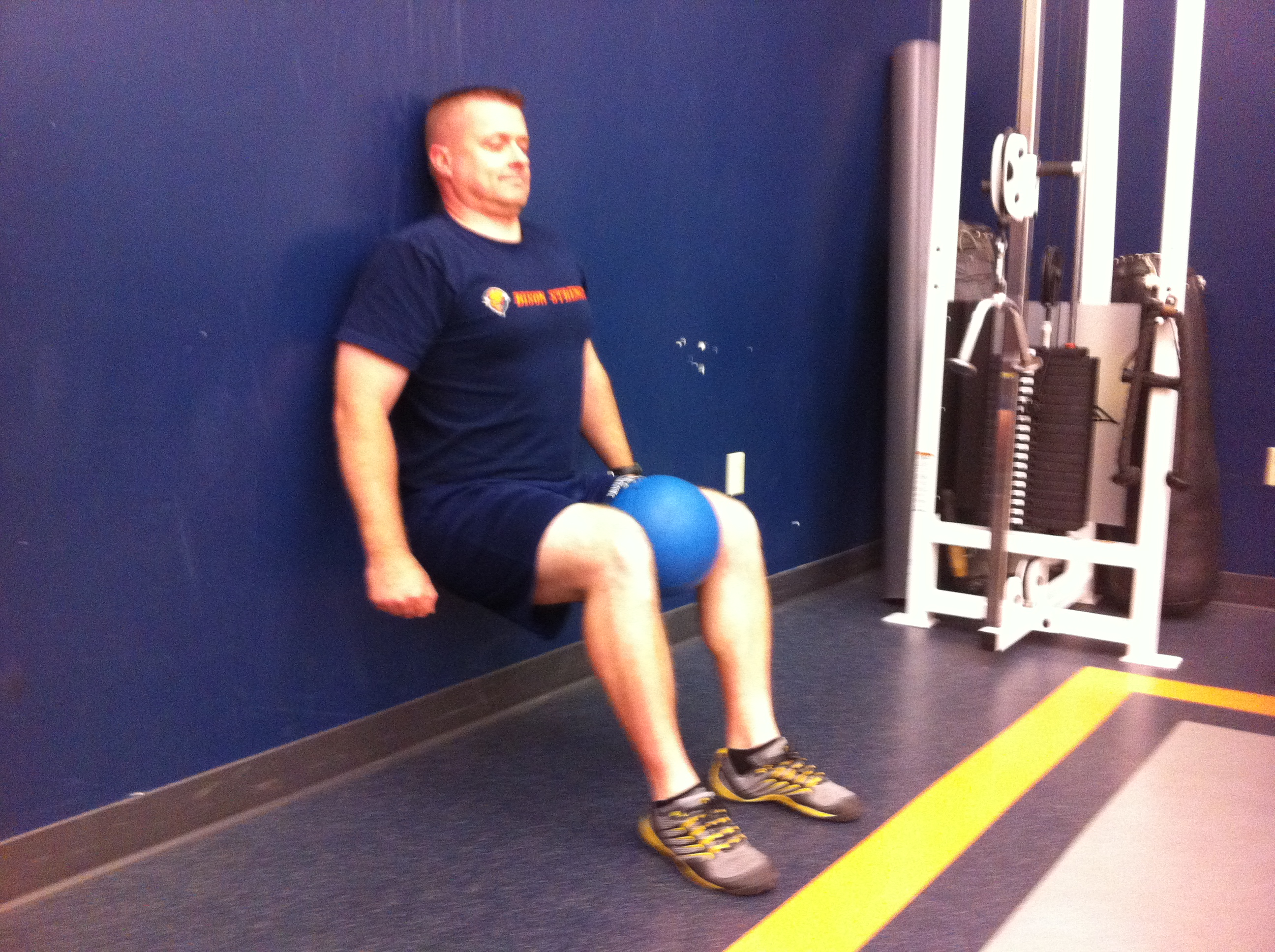 Isometric Wall Sit Variations | VarietyTrainer.com